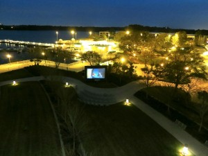 Lady and the Tramp outdoors at the Contemporary