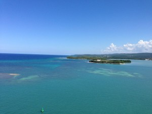 Beautiful view of the shores of Falmouth, Jamaica
