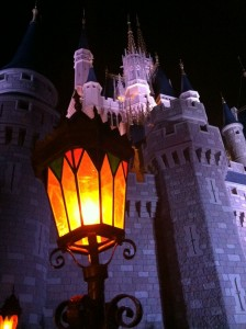 Late Night Castle, perfect sight for late night dining at disney world