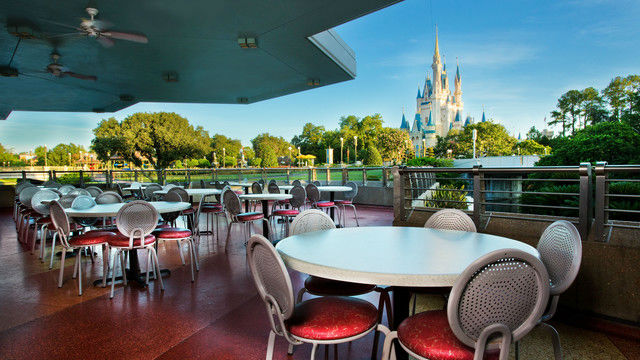 Even though it doesn't offer air conditioning, it does have a great view!  Photo courtesy of Disney (c)