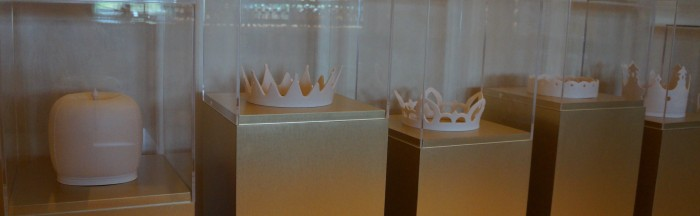 Crowns, fit for royalty. (Photo by Julia Mascardo)