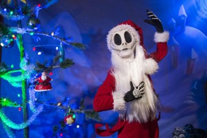 Jack Skellington at the Christmas Party. ©Disney