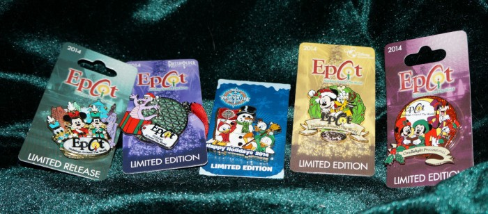 Pins include DVC and Annual Passholder offerings. (Photo by Julia Mascardo)