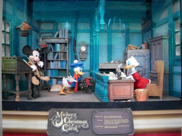 Magic Kingdom Window Display