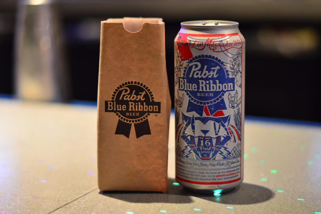 25 Drinks Of Christmas Pbr In A Paper Bag