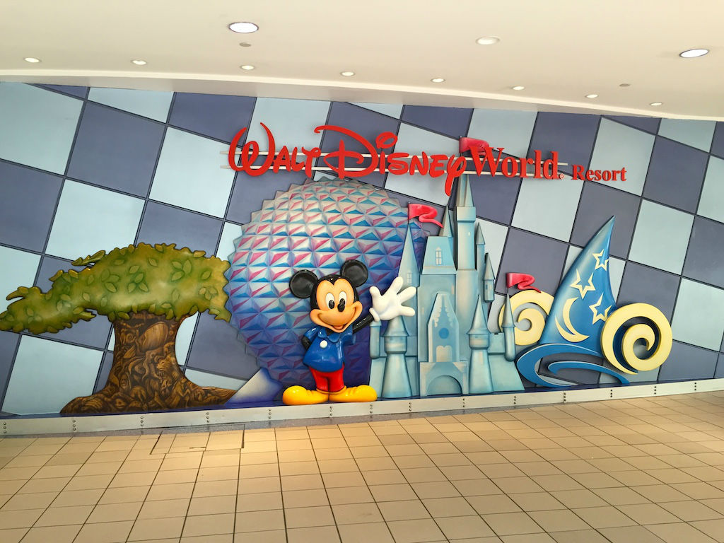 Disney Merchandise Orlando International Airport