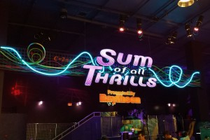 Sum of All Thrills Sign