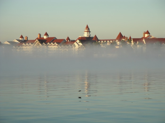 Grand Floridian looks regal from across the Seven Seas Lagoon