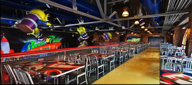 Second floor dining haven. Photo courtesy of Disney (c)