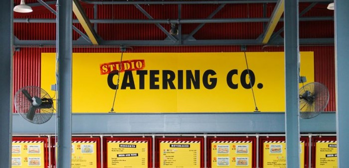 Studios Catering Co Sign