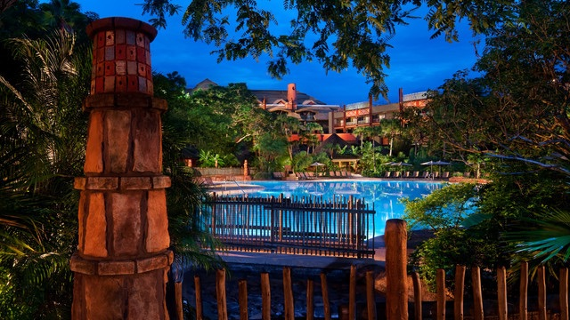Uzima pool. Photo courtesy of Disney (c)