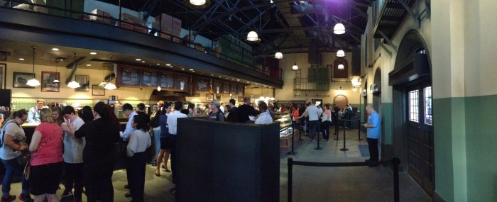 The Trolley Car Cafe is one of the new Starbucks locations at Walt Disney World. (Photo by Julia Mascardo)