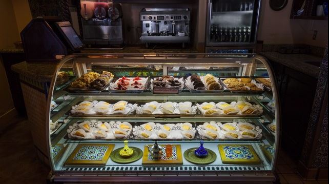 Tangierine Café offers delicious Mediterranean pastries. Photo courtesy of Disney (c)