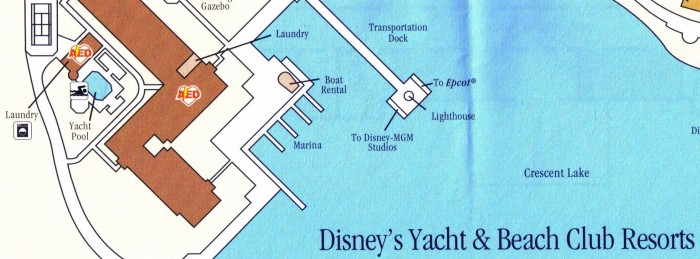 Yacht Club map laundry