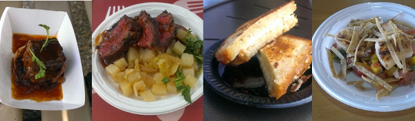 Short rib, hangar steak, griddled cheesecake, scallops, and more at Busch Gardens Food and Wine Festival.