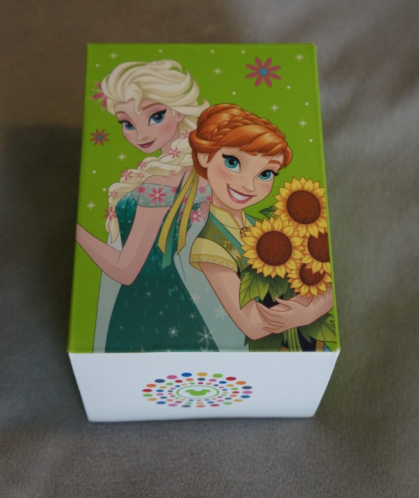 The front of the box features the same artwork as the MagicBand itself. (Photo by Julia Mascardo)
