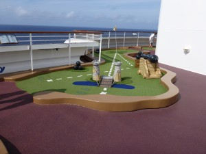 The smallest children may not have the patience for family activities like mini-golf.