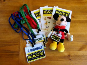 Amazing Race Around Disney World