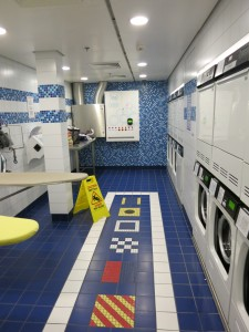 There are laundry rooms for guest use on all four Disney ships.