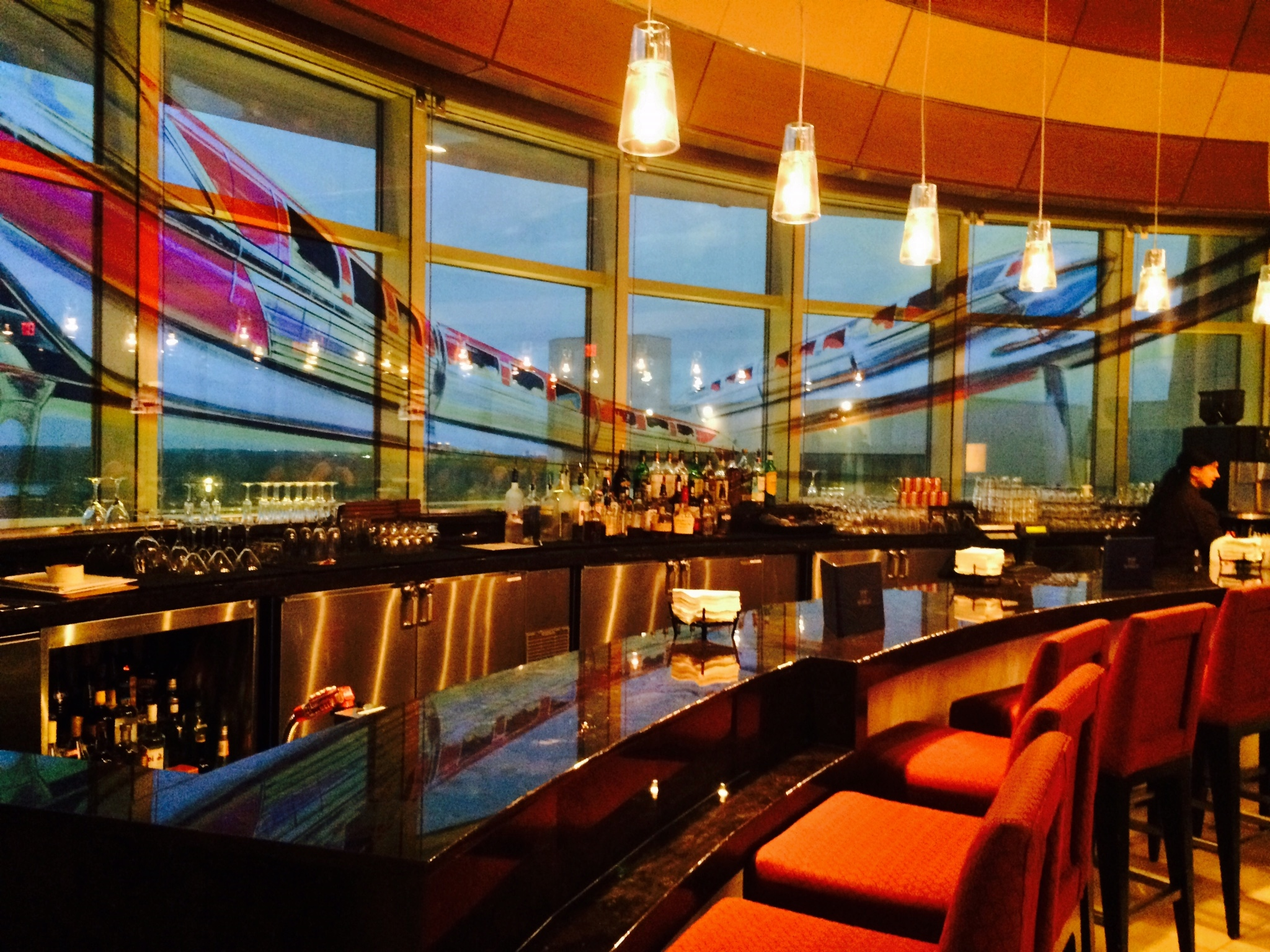 A Review of Disney World's Top of the World Lounge