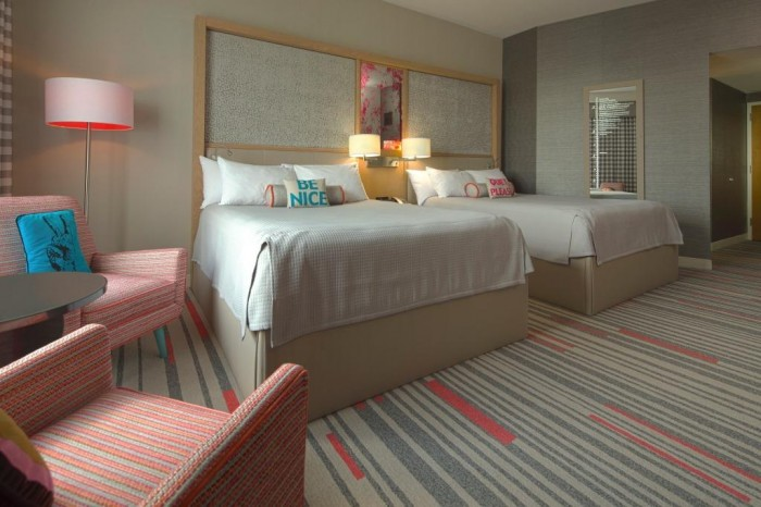 Hard Rock Hotel rooms (Source: Universal Orlando)