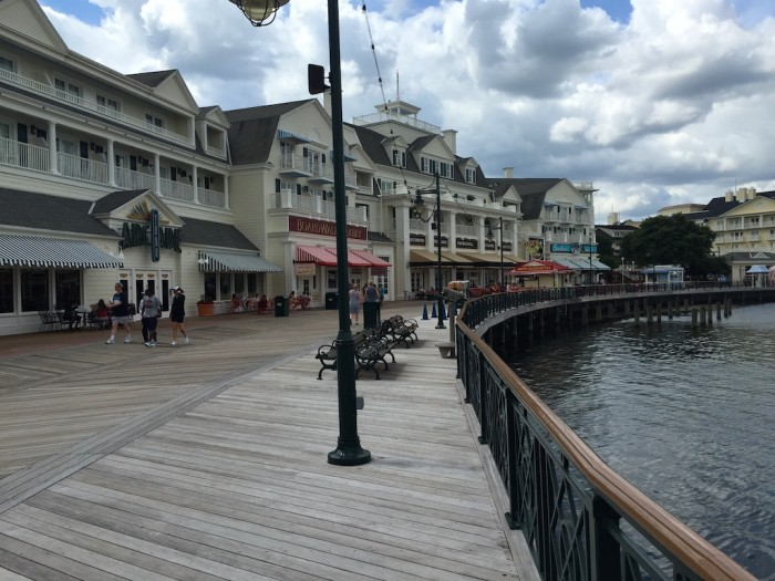 Crescent Lake hotels like the Boardwalk allow you easy access to Epcot and Disney's Hollywood Studios