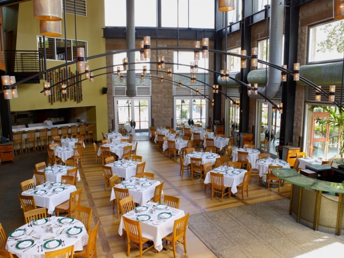 Emeril's Orlando dining room