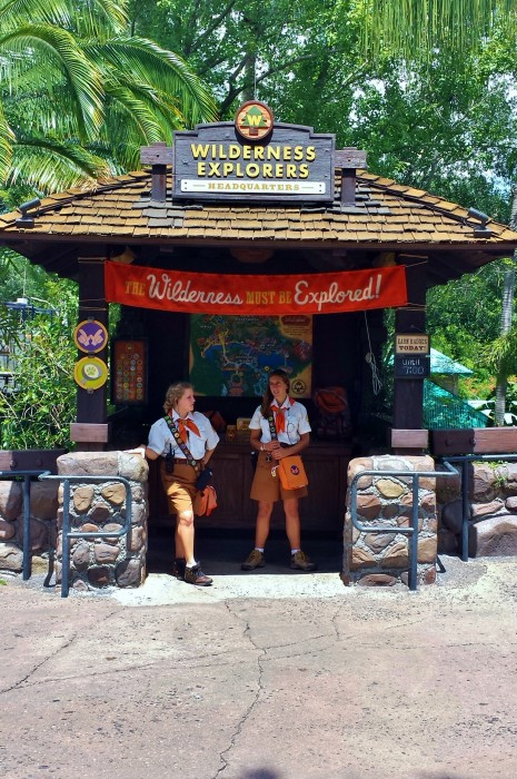 Wilderness Explorer's Recruitment Station