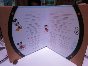 Animator's Palate on the Disney Wonder