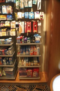 Half a shelf of baby food for sale on the Wonder. Second shelf from the bottom, on the right.