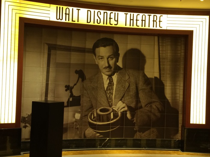 Walt Disney Theatre on the Disney Dream