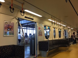 Tokyo Disney Resort's spacious, clean, and quick monorail.