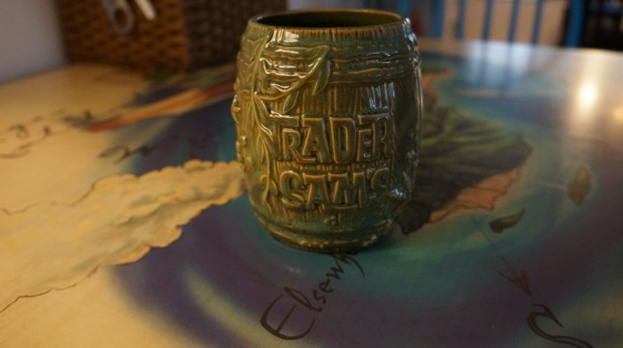 2nd edition Shipwreck barrel from Trader Sam's Enchanted Tiki Bar in Disneyland