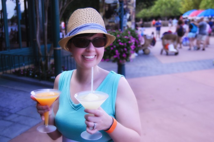 Drinks in Epcot MyMagic+