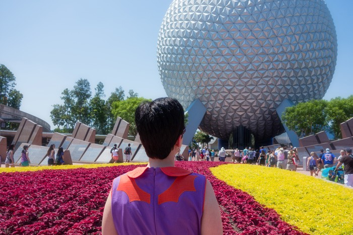 Figment Dress and Spaceship Earth