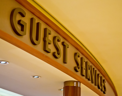 Guest Services on The Disney Dream