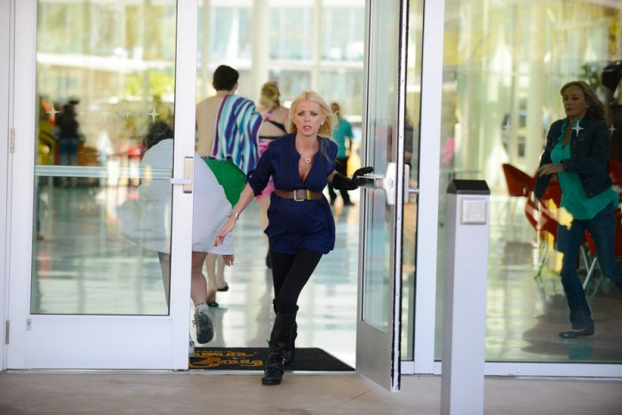 SHARKNADO 3: OH HELL NO! -- Pictured: Tara Reid as April Wexler -- (Photo by: Gene Page/Syfy)