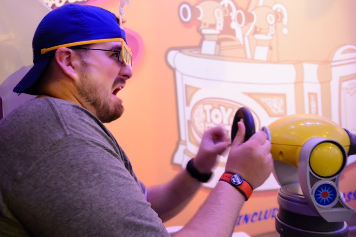 Toy Story Midway Mania Shooter