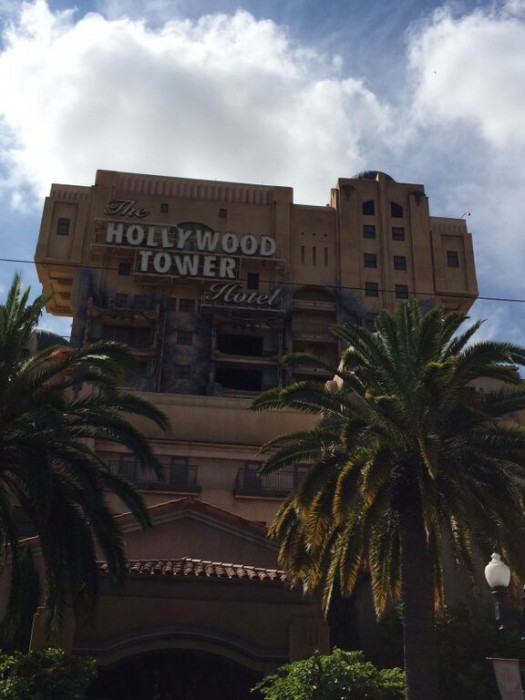 California Adventure Twilight Zone Tower of Terror