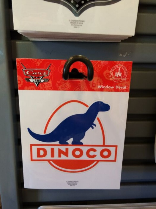 Cars Land Dinoco Sticker