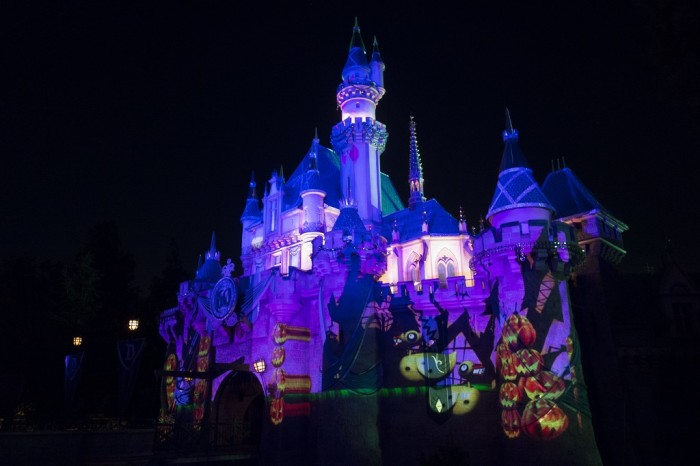 Some of the Sleeping Beauty Castle projections for this year. You may want to take a few minutes and watch all the different effects cycle through.