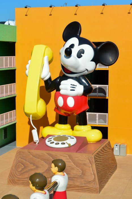 Pop Century Mickey Phone
