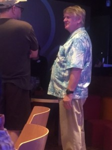 Bill Farmer could have fit in as any other Disney Cruise guest--but when he pulls out the Goofy voice, it's truly a special experience. (Photo by Julia Mascardo)