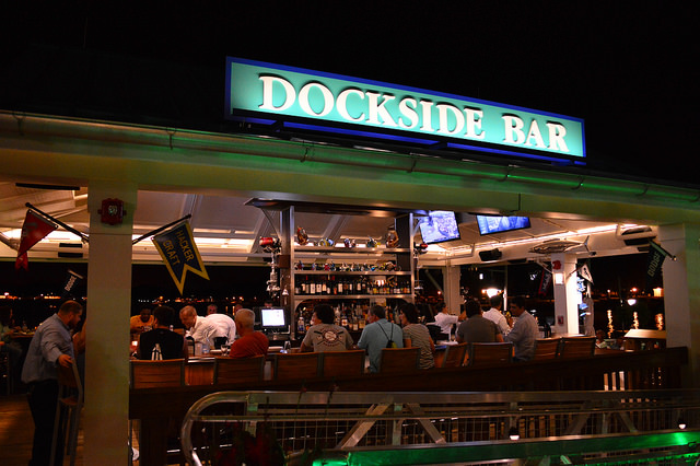 Dockside Bar at the BOATHOUSE (photo by Brandon Glover)