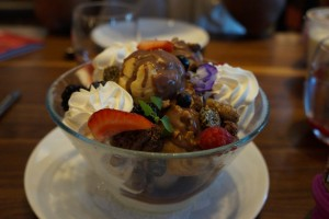 The MM Parfait. (Photo by Julia Mascardo)