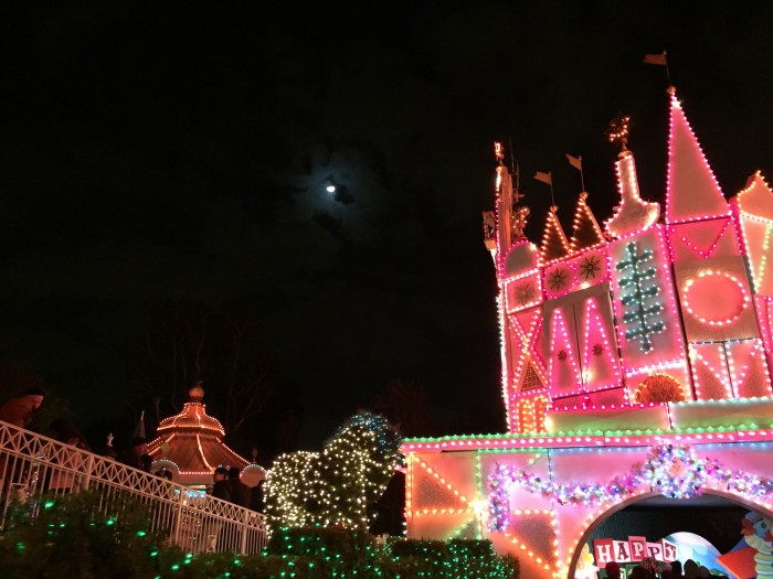 It's a Small World Holiday Lights