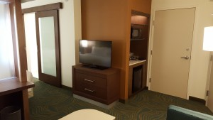 Springhill Suites - TV and Kitchenet