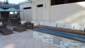SpringHill/TownPlace Pool Area - Fire Pit