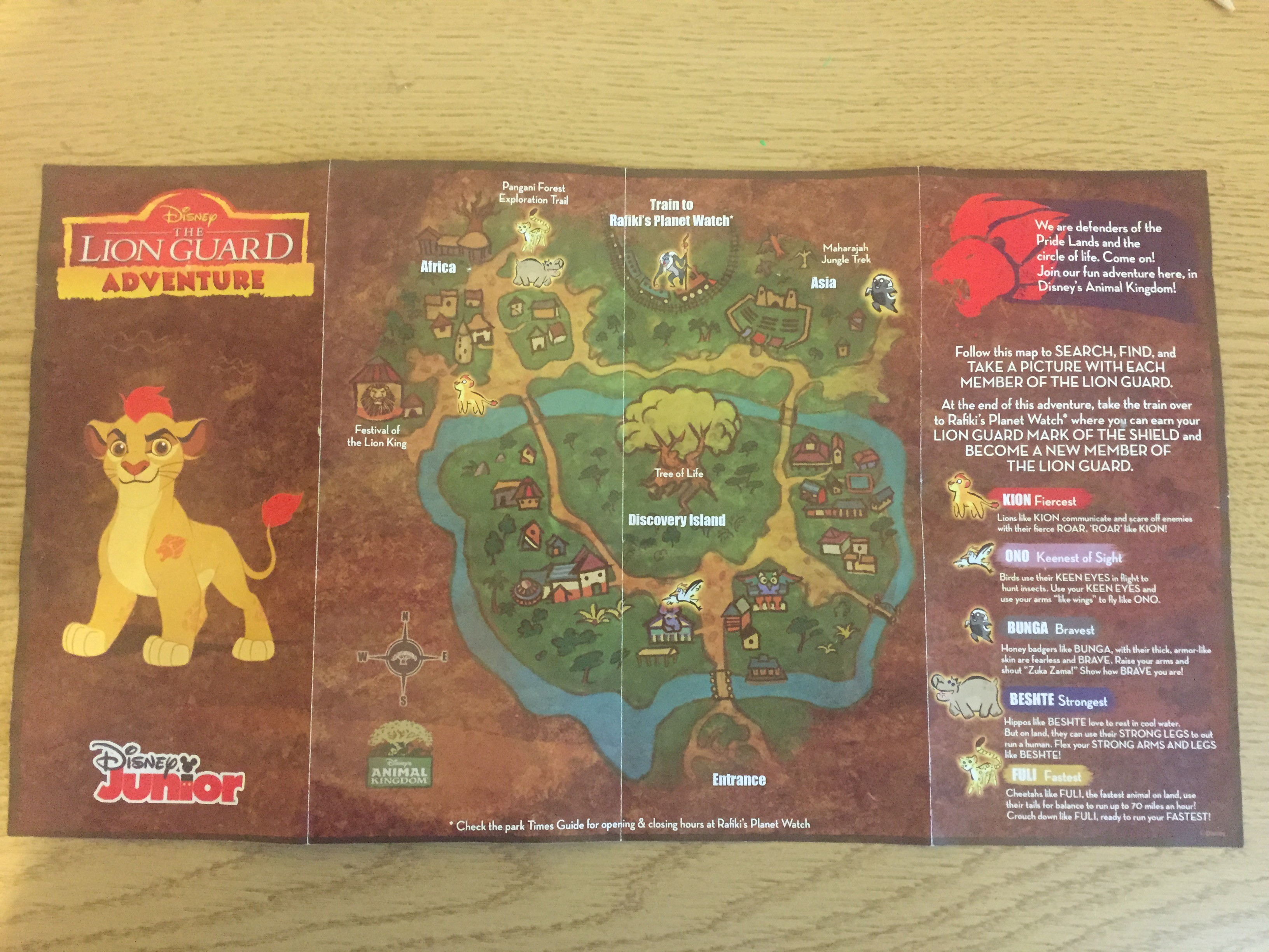 Julia S Best Week Ever February 25 2016 Lion Guard Defend Touringplans Com Blog Start studying the lion guard characters. touring plans
