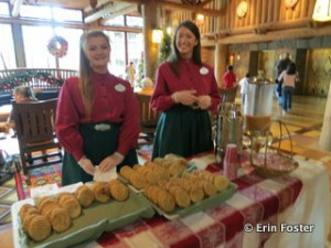 Holiday treats are offered at some resorts.